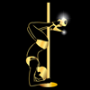 Logo Gold & Pole Caen